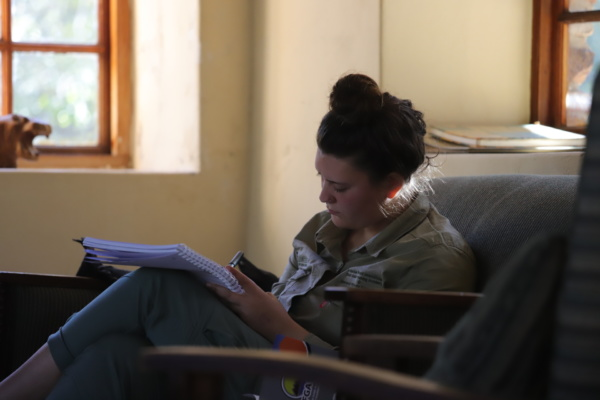 Ranger Diaries - Hard at study
